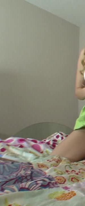 Webcam Show With Blonde Schoolgirl